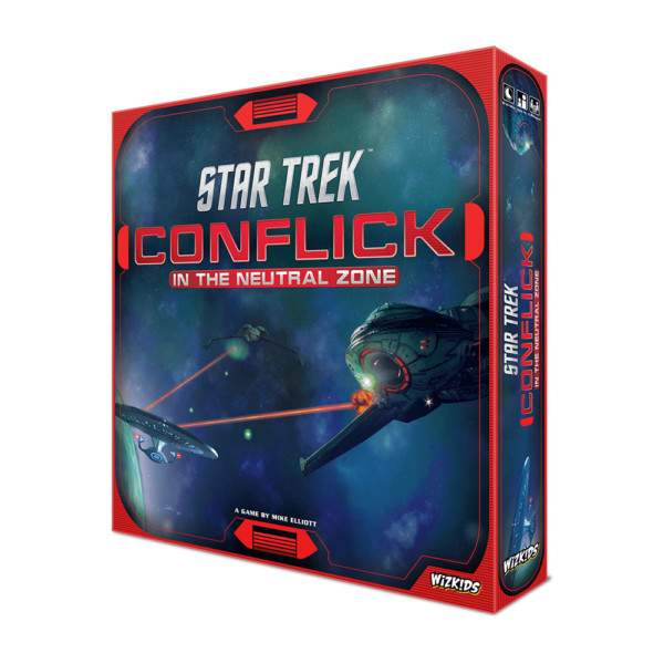 Star Trek: Conflick In The Neutral Zone Game Box