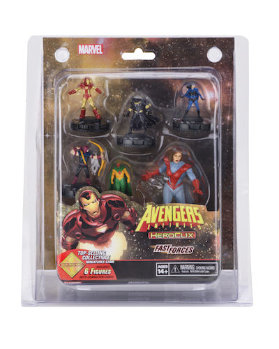 Marvel Heroclix: Avengers Infinity Fast Forces Box Front