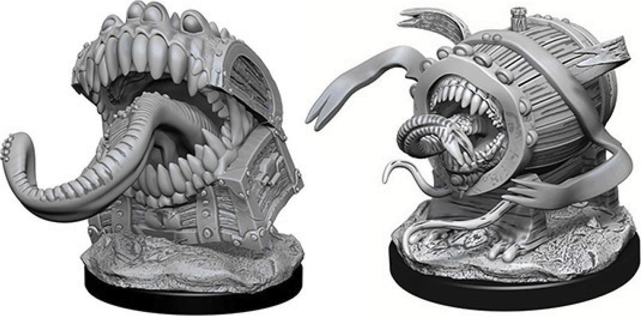 Dungeons & Dragons Nolzur`s Marvelous Unpainted Miniatures: Mimics Box Front