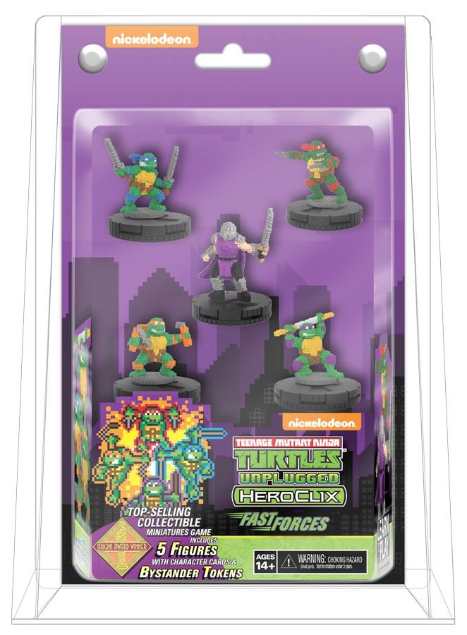 Teenage Mutant Ninja Turtles Heroclix: Unplugged Fast Forces Box Front