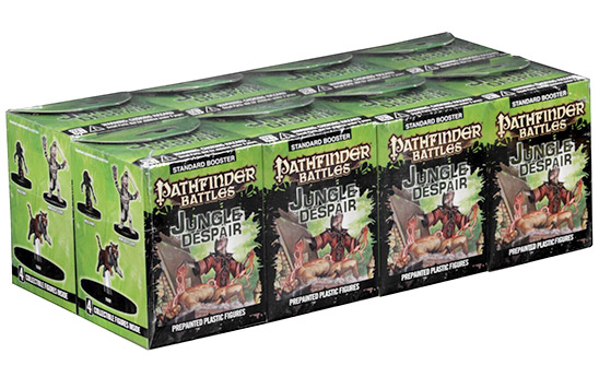 Pathfinder Battles: Jungle Of Despair Booster Brick (8) Box Front