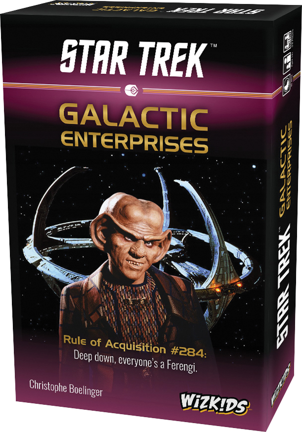 Star Trek: Galactic Enterprises Box Front