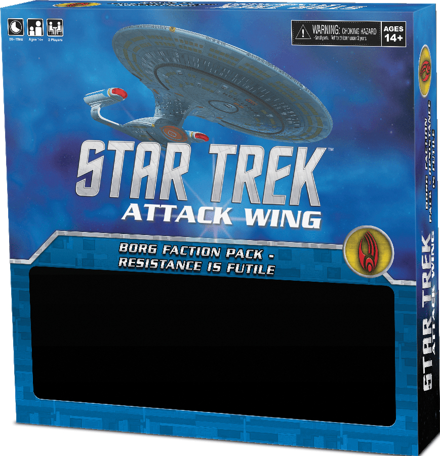 Star Trek Attack Wing: Borg Faction Pack - Resistance Is Futile Box Front