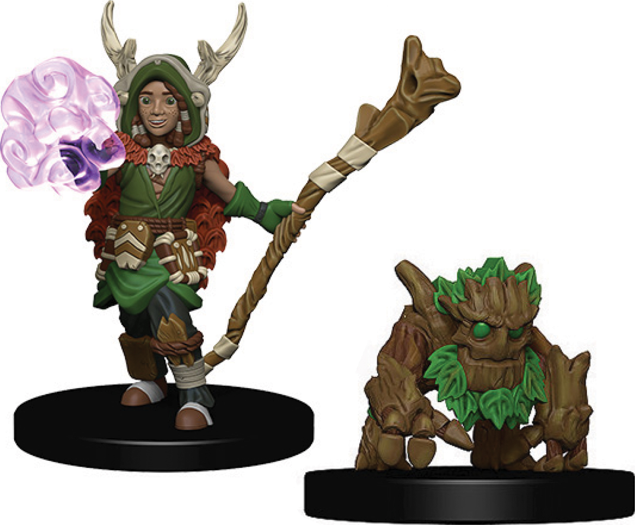 Wizkids Wardlings: Boy Druid & Tree Creature Box Front