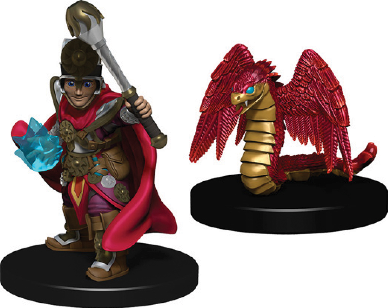 Wizkids Wardlings: Boy Cleric & Winged Snake Box Front