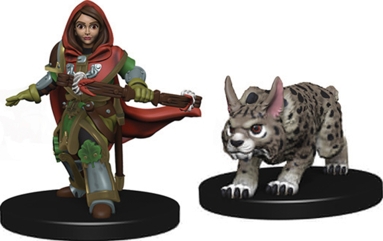 Wizkids Wardlings: Girl Ranger & Lynx Box Front