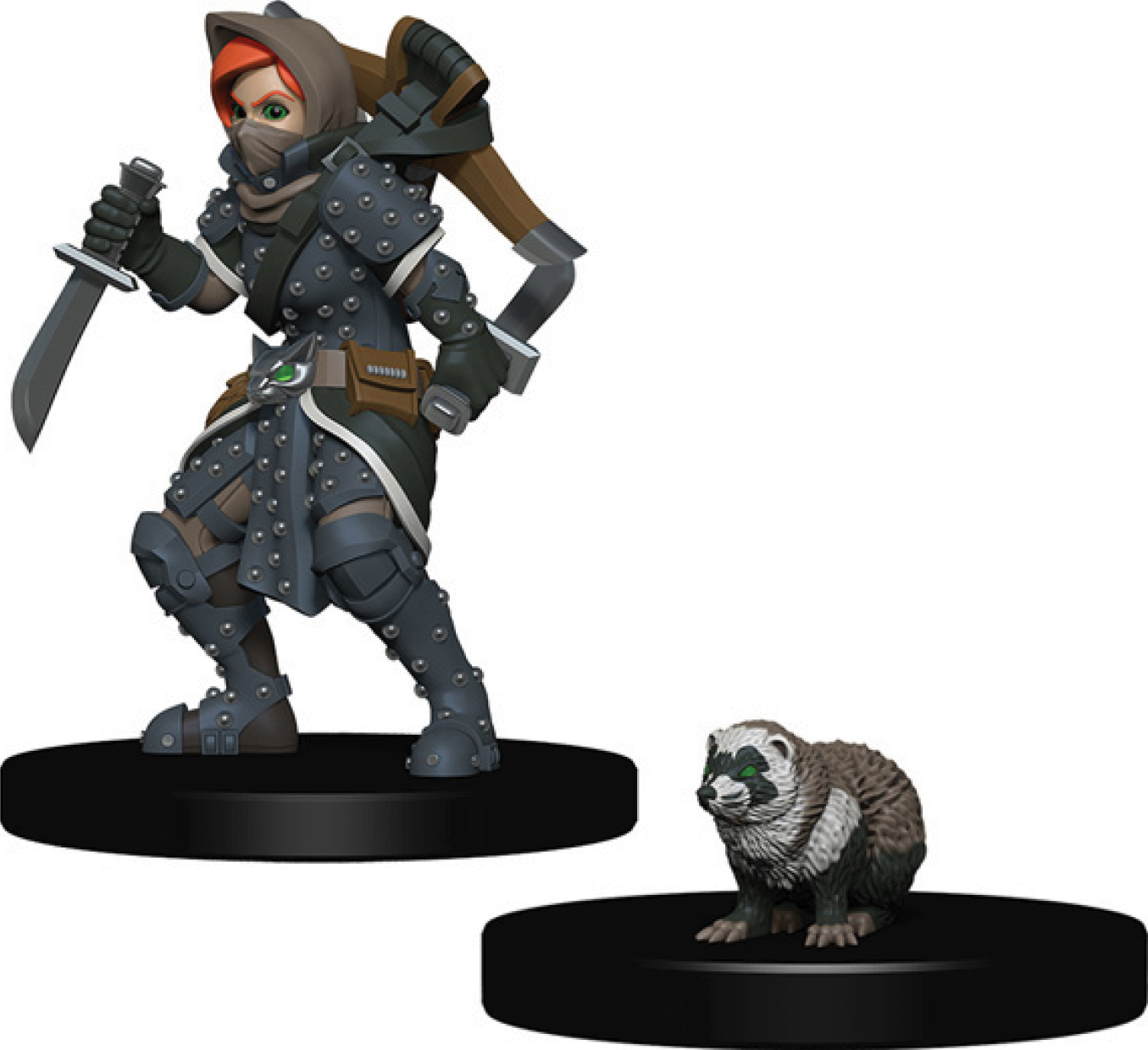 Wizkids Wardlings: Girl Rogue & Badger Box Front