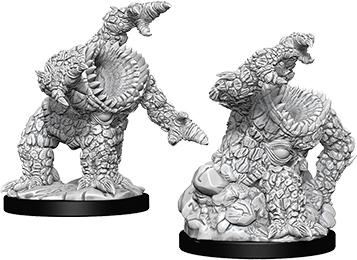 Dungeons & Dragons Nolzur`s Marvelous Unpainted Miniatures: Xorn Box Front