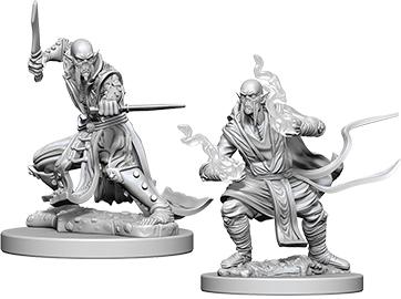 Dungeons & Dragons Nolzur`s Marvelous Unpainted Miniatures: Githzerai Box Front
