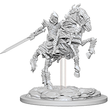 Pathfinder Deep Cuts Unpainted Miniatures: Skeleton Knight On Horse Box Front