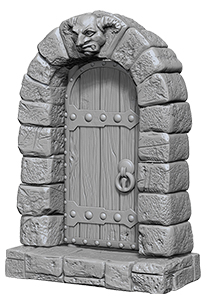 Wizkids Deep Cuts Unpainted Miniatures: Doors Box Front