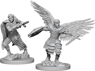 Dungeons & Dragons Nolzur`s Marvelous Unpainted Miniatures: Male Aasimar Fighter  Box Front