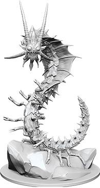 Dungeons & Dragons Nolzur`s Marvelous Unpainted Miniatures: Adult Remorhaz Box Front