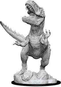 Dungeons & Dragons Nolzur`s Marvelous Unpainted Miniatures: T-rex Box Front