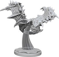 Pathfinder Deep Cuts Unpainted Miniatures: Flying Ray Box Front