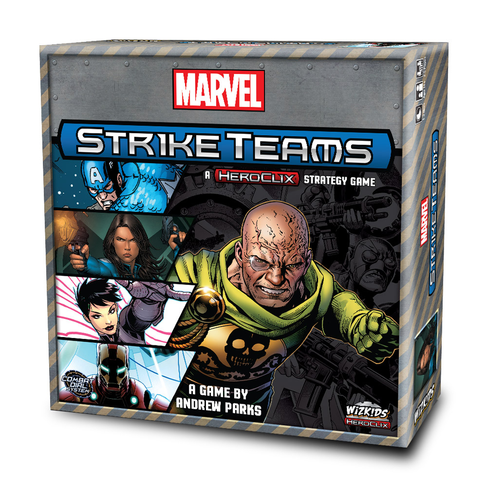 Marvel: Strike Team Strategy Game Box Front