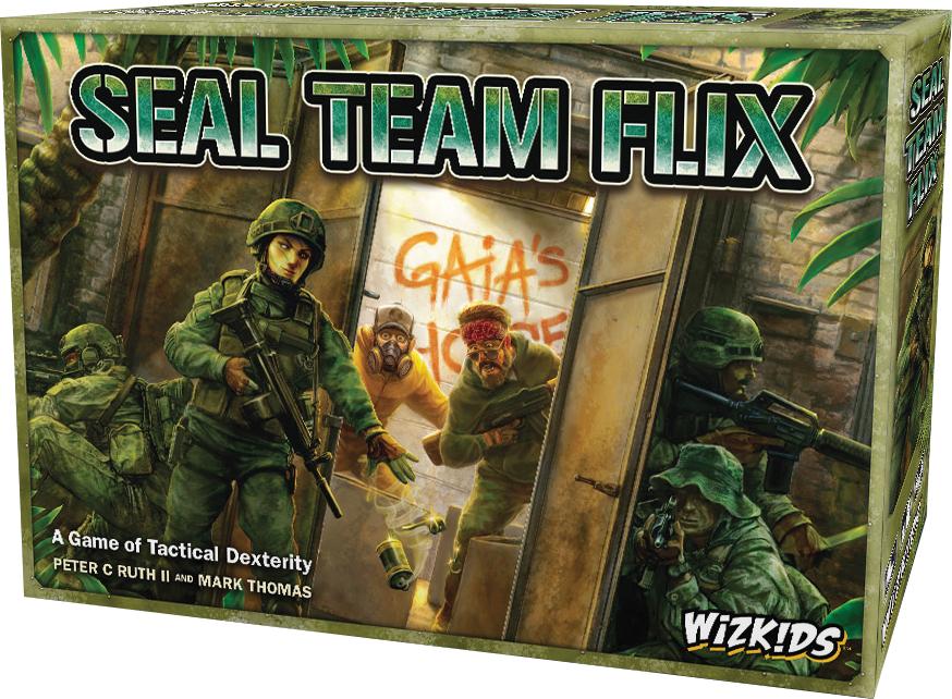 Seal Team Flix Box Front