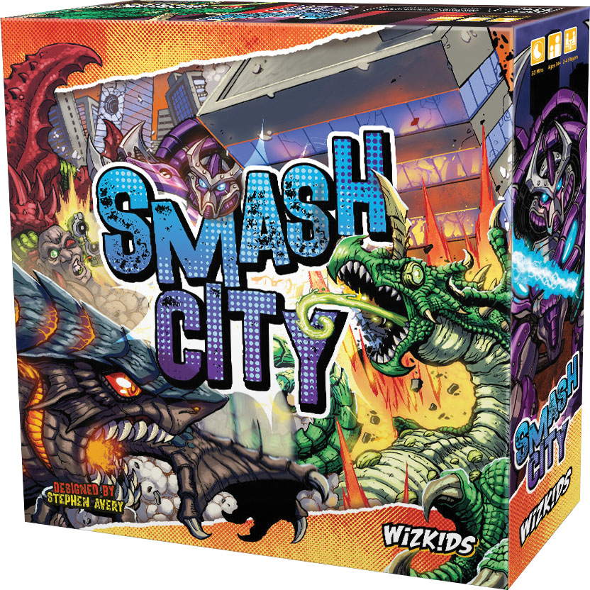 Smash City Game Box