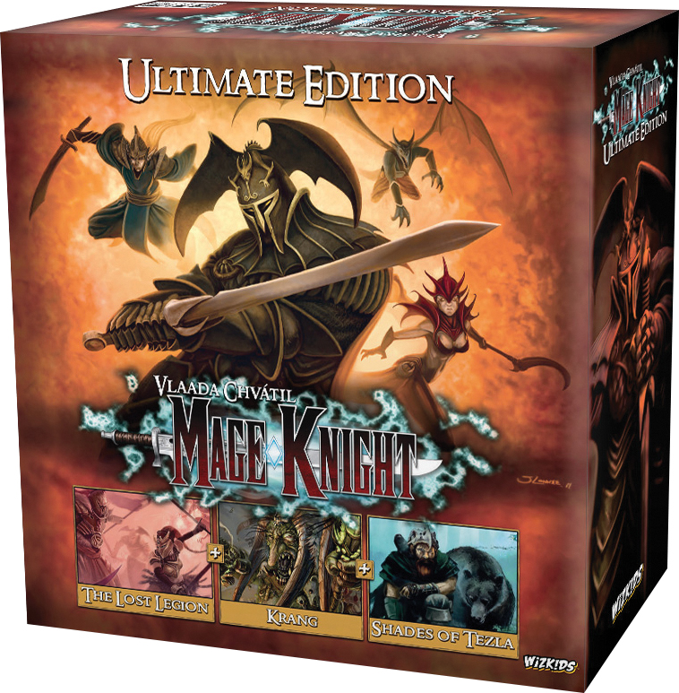 Mage Knight Board Game: Ultimate Edition Box Front