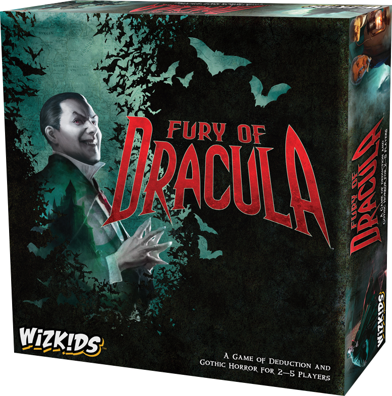 Fury Of Dracula 4th Edition Box Front