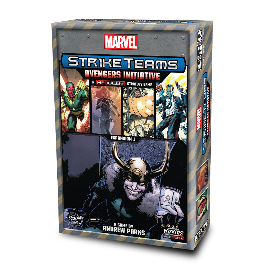 Marvel: Strike Team Avengers Initiative Expansion Box Front