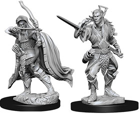 Dungeons & Dragons Nolzur`s Marvelous Miniatures: W7 Elf Male Rogue Game Box