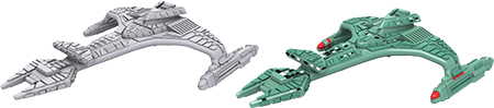 Star Trek Deep Cuts Unpainted Ships: Vorcha Class Box Front
