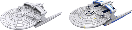 Star Trek Deep Cuts Unpainted Ships: Miranda Class Box Front