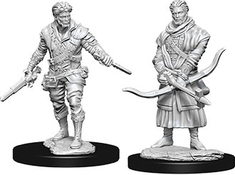 Dungeons & Dragons Nolzur`s Marvelous Unpainted Miniatures: W9 Male Human Rogue Game Box