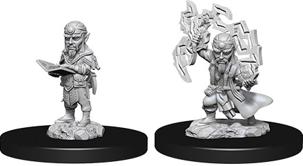 Pathfinder Deep Cuts Unpainted Miniatures: W9 Male Gnome Sorcerer Game Box