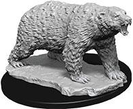 Wizkids Deep Cuts Unpainted Miniatures: W9 Polar Bear Game Box