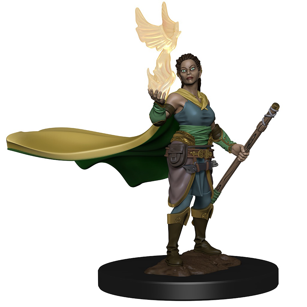 Dungeons & Dragons Icons Of The Realms Premium Figures: W1 Elf Female Druid Game Box