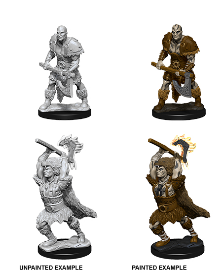 Dungeons & Dragons Nolzur`s Marvelous Unpainted Miniatures: W10 Male Goliath Barbarian Game Box