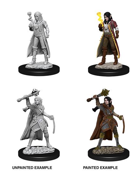 Dungeons & Dragons Nolzur`s Marvelous Unpainted Miniatures: W10 Female Elf Cleric Game Box