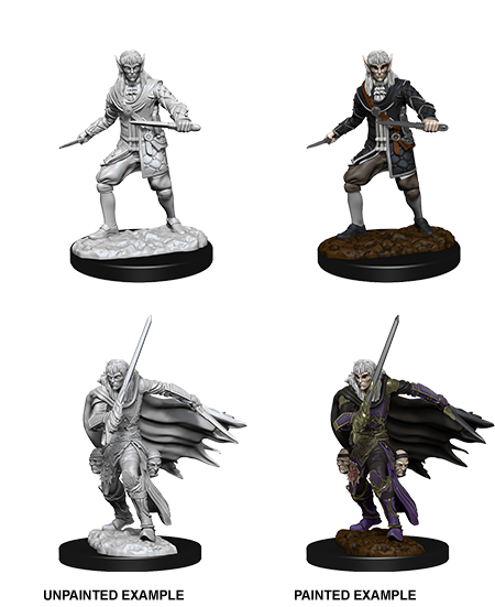 Pathfinder Deep Cuts Unpainted Miniatures: W10 Male Elf Rogue Game Box