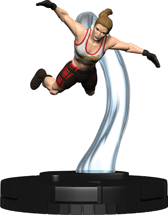 Wwe Heroclix: Ronda Rousey Expansion Pack Game Box