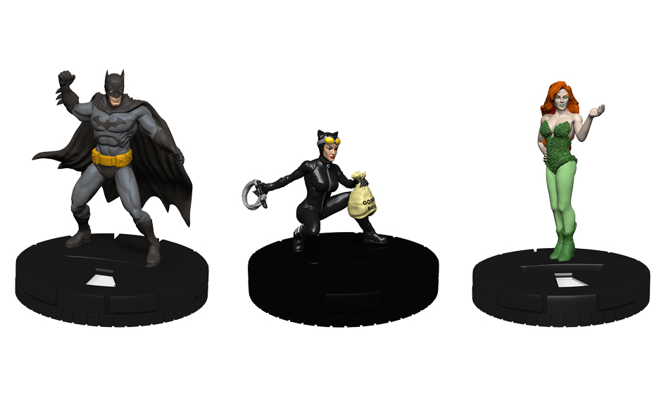 Dc Heroclix: Batman And Catwoman - Everyone Loves Ivy Monthly Organized Play Kit Game Box