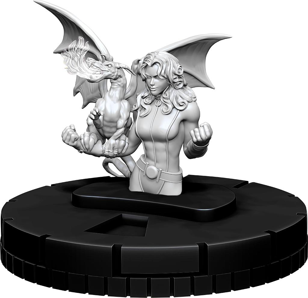 Marvel Heroclix: Deep Cuts Unpainted Miniatures - Kitty Pryde