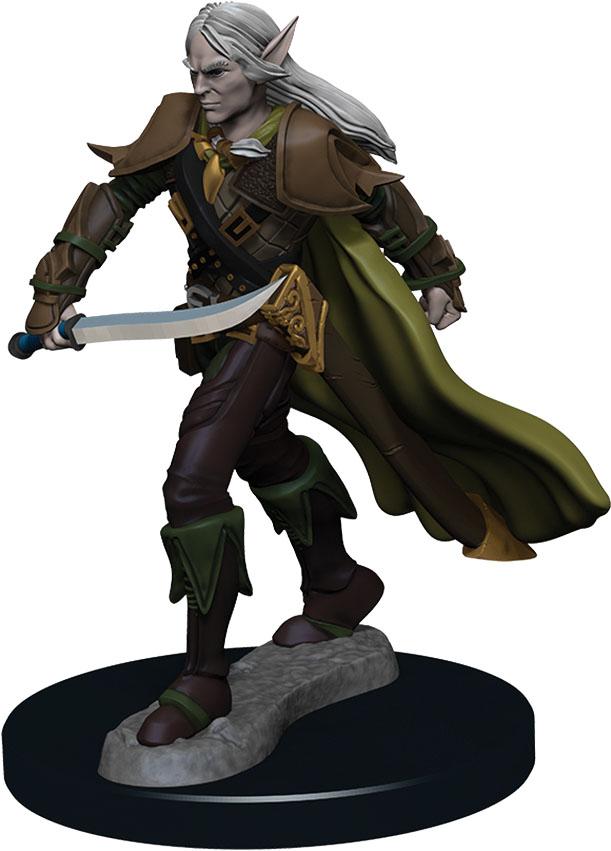 Pathfinder Battles: Premium Painted Figure - W1 Elf Fighter Male