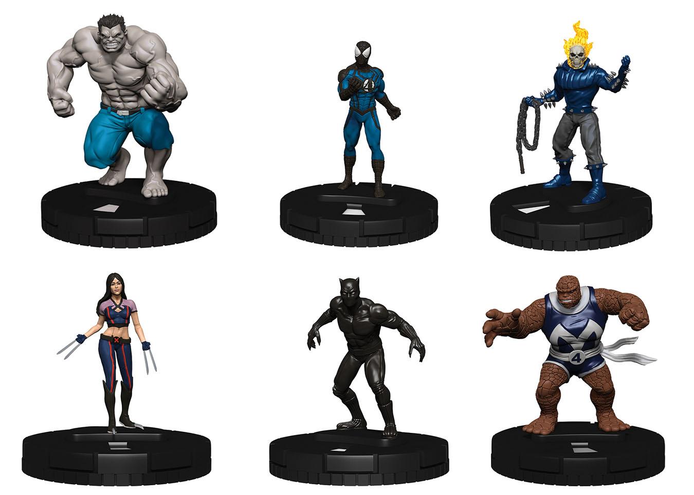 Marvel Heroclix: Fantastic Four Fast Forces