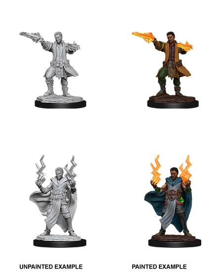 Dungeons & Dragons Nolzur`s Marvelous Unpainted Miniatures: W12 Male Human Sorcerer