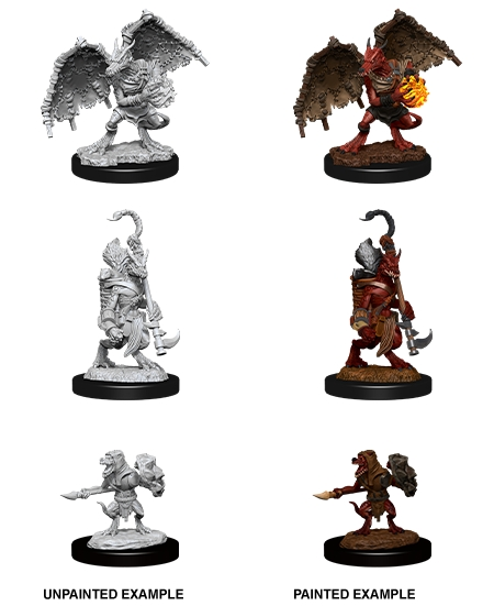 Dungeons & Dragons Nolzur`s Marvelous Unpainted Miniatures: W12 Kobold Inventory, Dragonshield & Sorcerer