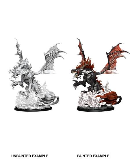 Pathfinder Deep Cuts Unpainted Miniatures: W12 Nightmare Dragon