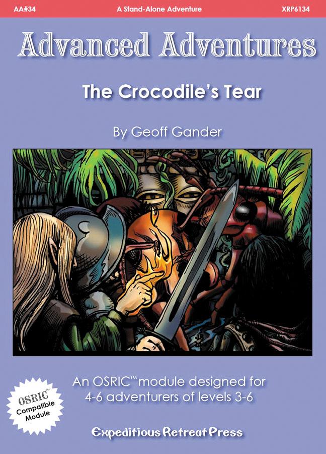 Advanced Adventures #34: The Crocodiles Tears Box Front
