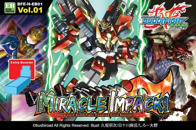 Future Card Buddyfight Tcg: Miracle Impack Booster Display (15) Box Front