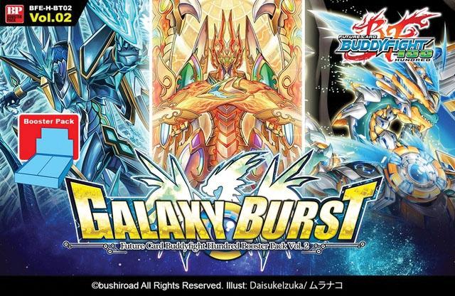 Future Card Buddyfight Tcg: Galaxy Burst Booster Display (30) Box Front