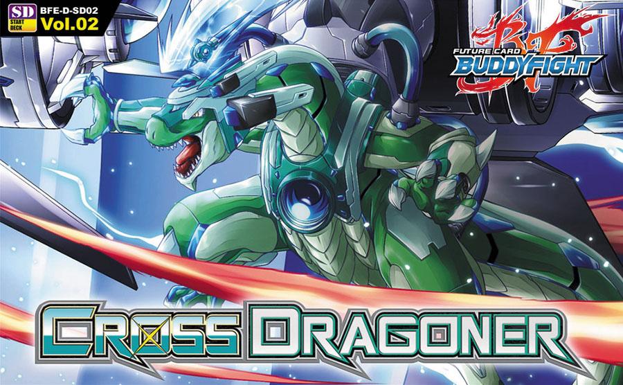 Future Card Buddyfight Tcg: Cross Dragoner Starter Deck Display (6)