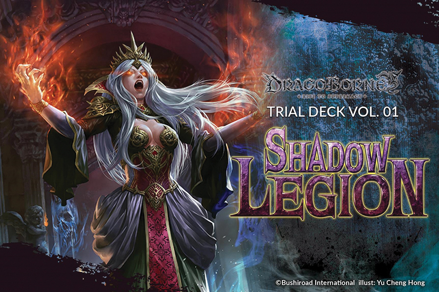 Dragoborne Tcg: Shadow Legion Trial Deck Display(6) Box Front