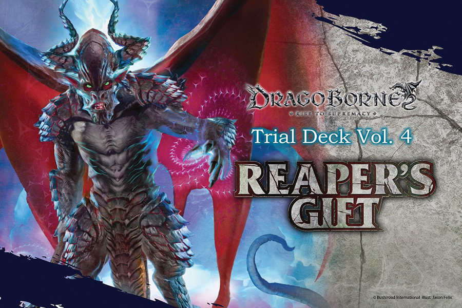 Dragoborne Tcg: Reaper`s Gift Trial Deck Display (6) Box Front