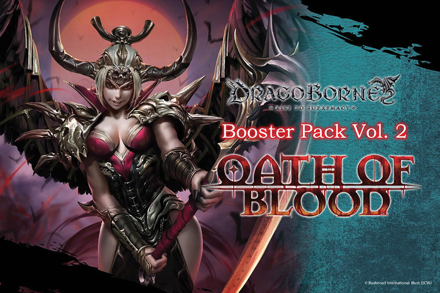 Dragoborne Tcg: Oath Of Blood Booster Display (20) Box Front